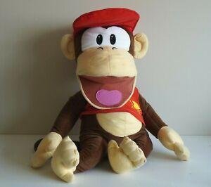 Vintage OFFICIAL Nintendo Diddy Kong Large Plush Toy - JUMBO DONKEY KONG