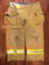 Firefighter Honeywell Morning Pride Turnout Bunker Pants 42x28 Costume Used