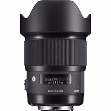SIGMA 20mm F1.4 DG HSM 'ART' SERIES PRIME LENS TO SUIT NIKON & SANDISK 32GB SD