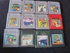 Lote 14 Juegos GAMEBOY CLASSIC y COLOR (Pokemon, Super Mario, Wario...) - LEER
