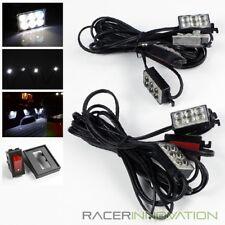 8PC Pickup Truck Bed/Tonneau Cover/Cargo Box Bright White Glow 48-LED Light Kit