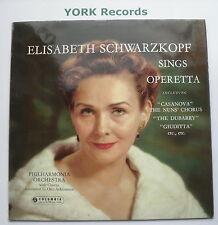 33CX 1570 - ELISABETH SCHWARZKOPF - Sings Operetta - Excellent Con LP Record