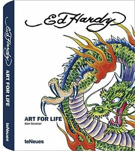 Ed Hardy Art for Life by Alan Govenar Hardback Book The Fast Free Shipping
