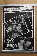 Sex Pistols Rip 1978 Vintage 80s Poster 25x35 Johnny Rotten Sid Vicious Punk