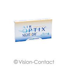 Air Optix Night & Day Aqua 1 x 6 sphärische Kontaktlinsen Monatslinsen von Alcon