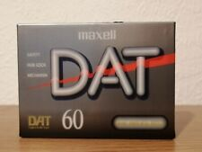 1990's Maxell D60 DAT60 tapes Digital Audio Tape - Brand new Sealed.