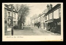 Sussex BEXHILL-ON-SEA Old Town unused PPC V E Austin shop