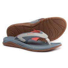 f9a838c3b087 Simms Atoll Blossom Flip Flops Sandals Womens 6