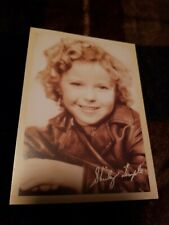 Postcard Of Movie Star Shirley Temple