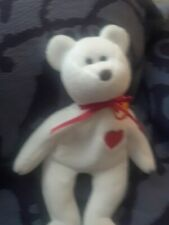 Still beanie babies rare valentino rare Brown nose excellent but tag came loose.
