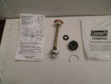 New OEM Coleman Lantern/Stove LEATHER Pump Cup, Plunger, Spring, Cap and Clip