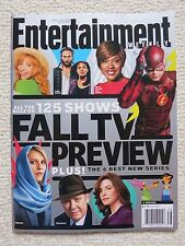 Entertainment Weekly Magazine September 19 / 26, 2014 Fall TV Preview Flash