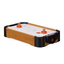 Airhockey Tischspiel, Tisch Airhockey, Tischhockey, mit Gebläse, zum Mitnehmen