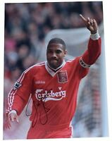 John Barnes SIGNED autograph 16x12 HUGE photo Liverpool Football  AFTAL & COA