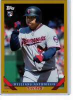 Willians Astudillo 2019 Topps Archives 5x7 Gold #251 RC /10 Twins