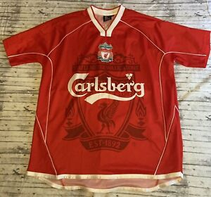 VINTAGE Liverpool F.C. Carlsberg Mens Soccer Jersey Size XL Part Of The Game
