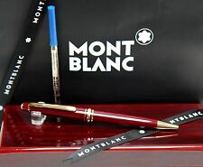 "Montblanc 164R  Burgundy - B.P ""RARE"" MINT & Flawless In Custom Mahogany Box!"