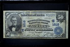 1902 PB $50 NATIONAL BANK NOTE ✪ MERCHANTS MANUFACT NEWARK ✪ NJ 1818 ◢TRUSTED◣