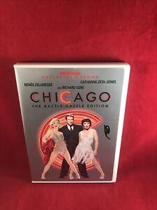 Chicago (DVD, 2005, 2-Disc Set, The Razzle-Dazzle Edition) W/ Insert Booklet!!