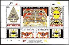 Palau 1991 ** mi.474/81 indépendance Independence culture culture [sp408]