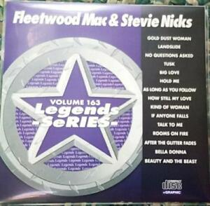 LEGENDS KARAOKE CDG FLEETWOOD MAC & STEVIE NICKS #163 OLDIES POP 15 SONGS CD+G