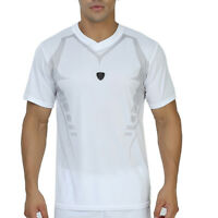 Men's Workout Running T-shirt  Short Sleeve Dri-fit Breathable Tops Quick-dry