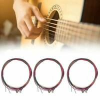 1 Set of 6Pcs Guitar Strings Replacement Steel String for Acoustic Guitar US