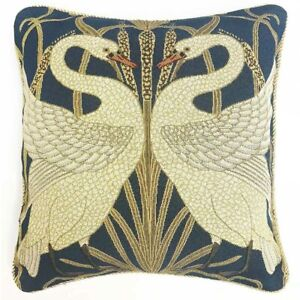 Signare Tapestry Cushion WALTER CRANE SWAN NOW BACK IN STOCK