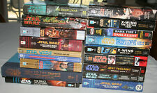 18 Star Wars book lot Heir to the Empire Truce at Bakura + more Science Fiction