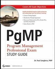 PgMP: Program Management Professional Exam Study Guide, Paul Sanghera, Good Book