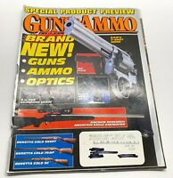 Guns & Ammo Magazine February 1996 Back Issue S & W 7-Shot M686