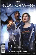Titan Comics Doctor Who The Thirteenth Doctor Holiday Special 2019 Both issues.