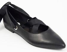 Vagabond Shoemakers Ballerina 37 LEDER Schwarz Halbschuh Schnürband Schuh NEU