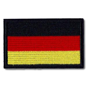 Patch Aufnäher Flicken Flagge Deutschland Germany Allemagne