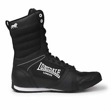 Lonsdale Kids Contender Boxing Boots Mid Cut Lace Up Sports Shoes Junior Boys