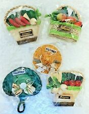 Philippines Magnets Lot of 5 Straw some w/ Shells Travel Souvenir New in plastic