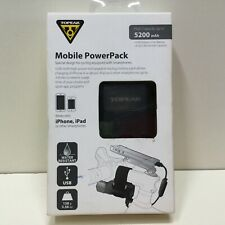 Topeak RideCase PowerPack Mobile Power Pack Battery 5200 mAh, USB - NEW