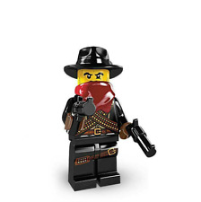 Lego Minifigure Series 6 Bandit / Cowboy 2012 Sealed