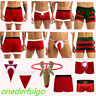 Sexy Mens Novelty Christmas Reindeer Thong G-String Pants Underwear Underpants
