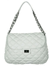 Ladies Purse - White Shoulder Bag