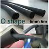 6M O Style Rubber Edge Trim Car Door Trunk Noise Control Weatherstrip Seal Strip