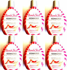 Case Lot of 6 Bombshell 100XX HOT Tingle Bronzer Tanning Lotion By Designer Skin
