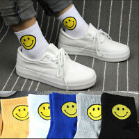 Warm Winter Smile Expression Socks Women Cartoon  Smile Face Casual Socks Cute