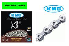 KMC Bike/Cycle X8-93 8 Speed Chain / Hi Performance Chain 116 Links