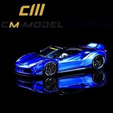 CM-MODEL 1:64 Ferrari LBWK Widebody LB488 Metal Blue Art (Arrival)