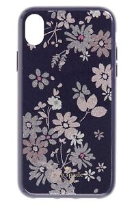 Kate Spade New York 256640 Womens Glitter Petite Posy iPhone XR Case