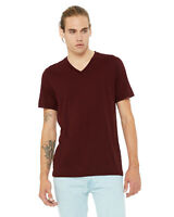 Bella + Canvas Unisex Jersey Short Sleeve V-Neck T-Shirt 3005 Retail Fit XS-3XL