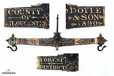 """32"""" County of Gloucester Iron Beam Scale Arm - Doyle & Sons 1890"""