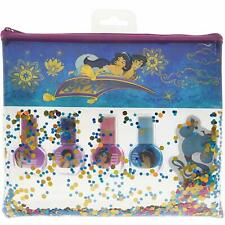 Disney Aladdin Non-Toxic Peel-Off Nail Polish Set with Nail File Gift