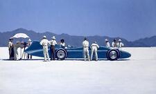 Jack Vettriano box canvas - Bluebird at Bonneville